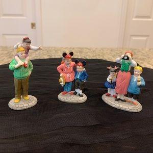 Dept. 56, Disney Parks Family, Set of 3 figurines